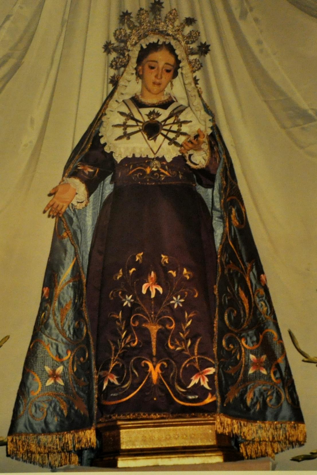 Virgen Dolores Rafelguaraf Valencia