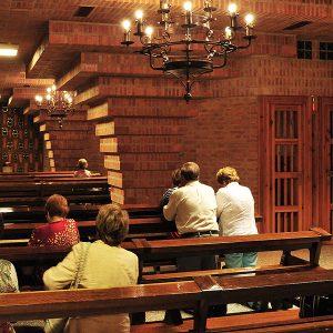 Confesiones en la Virgen de Loreto