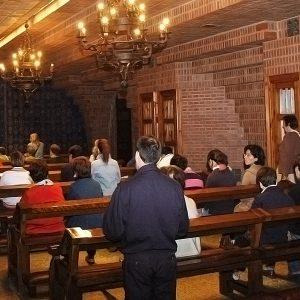 Confesiones en la capilla del Pilar