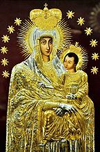 Icono de la Virgen de Sìluva (Lituania)