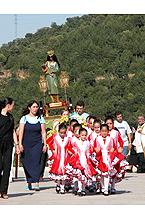 Romería con la Majarí Calí (Virgen gitana)