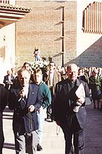 Imagen de la peregrinación el día 19 de Octubre de 1996