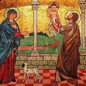 Mosaico Capilla de la Sagrada Familia