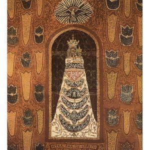 Mosaico de la Virgen de Loreto