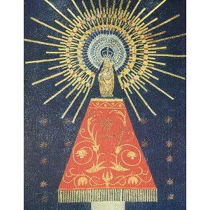 Mosaico de la Virgen del Pilar