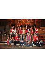 Jóeves paraguayas que trajeron la imagen al santuario