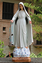 Talla de Our Lady Mary Mediatrix of All Grace
