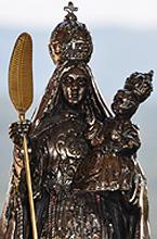 Detalle Reina de la Paz (El Salvador)