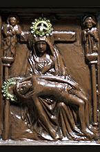 Virgen al pie de la Cruz