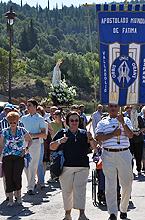 Los Peregrinos durante la procesión del día 10 de Julio de 2011