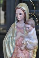La Virgen del colegio Ayalde