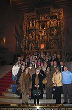 """Peregrinos del """"Aula de Arte y Cultura"""" de Sevilla el día 12 de noviembre de 2005"""