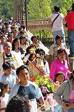 1ª peregrinación con la Virgen del Quinche