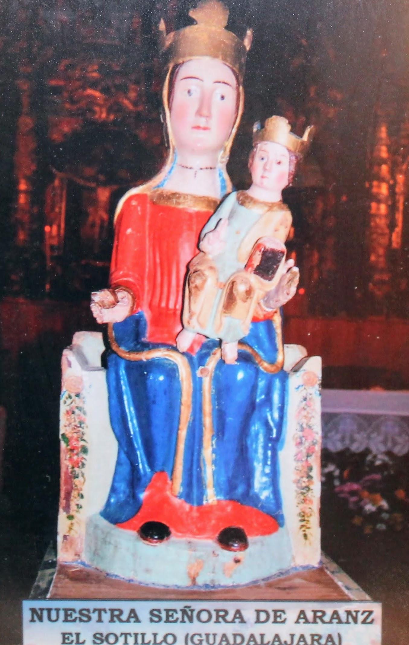 Nuestra Señora de Aranz. El Sotillo (Guadalajara)